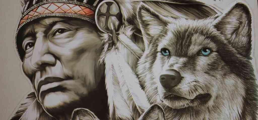 Welchen Wolf Fütterst Du Die Bekannte Metapher Mit